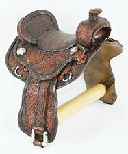Western Country Resin Saddle Toilet Paper Holder- Rustic Lodge Decor