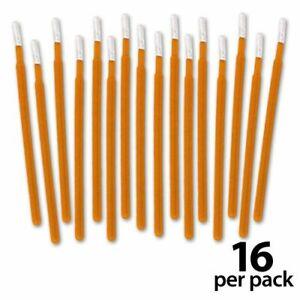 Visible Dust DHAP Fabric Orange Corner Swabs (16 Pack)