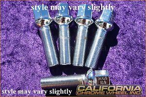 Set of 20 Chrome Mercedes Lug Bolts Nuts C280 C350 CLK500 SLK350 SL500 C55 AMG