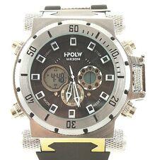 Digital Watch Brand Men Analog Quartz Dual Time Military Sport Japan Movement