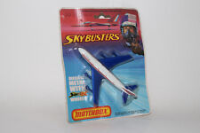 MATCHBOX SKY BUSTERS #SB-10 BOEING 747 QANTAS COMMERCIAL AIRPLANE, NEW IN BOX