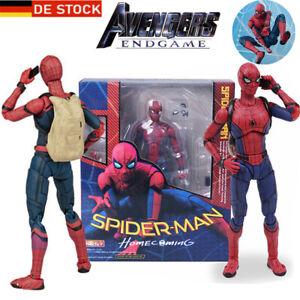 Marvel SpiderMan Modell Figure Spider-Man PVC Figuren Homecoming Action Figur
