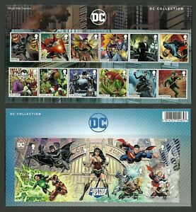GB 2021 PRE ISSUE DC COLLECTION JUSTICE LEAGUE BATMAN PRESENTATION PACK MNH