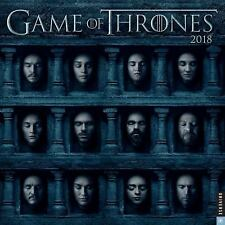 GAME OF THRONES 2018 CALENDAR - HBO (COR) - NEW BOOK