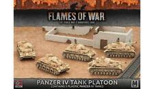 Flames of War: Afrika Korps Panzer IV Tank Platoon