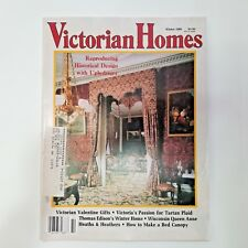 Victorian Homes Magazine Winter 1991 Victorian Valentine Gift Thomas Edison Home