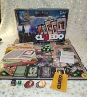 Harry Potter Cluedo Classic Mystery Hasbro Board Game 2018 Mint 100% Complete !!