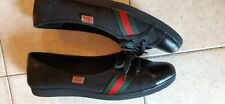 GUCCI Ballerina Black Trainers Size  UK 6 EU 40 Women's  made in Italy