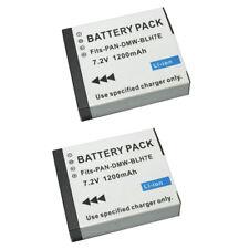 2PCS DMW-BLH7 BLH7PP BLH7E Battery For Panasonic  DMC-GM1  DMC-GM5 GM5 DVISI