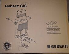 Geberit GIS 461103001 elemento di montaggio muro WC M. BET. V. sopra O. WC arco (HP)