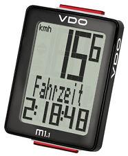 VDO M1.1 WL 30015 Analog Funk Fahrradcomputer Biketacho Tachometer Fahrradtacho