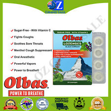 Olbas Therapeutic Lozenges Maximum Strength Sugar Free Black Currant 24 Lozenges