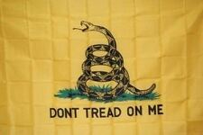 2 x 3 ft GADSDEN Dont Tread On Me Coiled Snake Logo Print Nylon Flag Made in USA