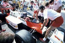Alain Prost McLaren MP4/3 Francés Grand Prix 1987 fotografía 2