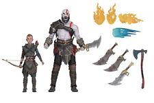 God of War 2018 18cm Kratos & Atreus set 2 Action Figures NECA Sony Interactive