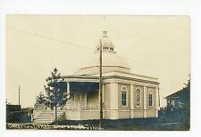 Congregational Church RPPC St. John's NEWFOUNDLAND Rare Antique Photo 1910s