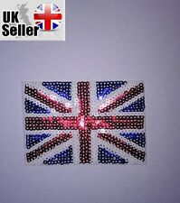 Union Jack Flag Sequin Iron-on/sew-on Embroidered Patch Fashion