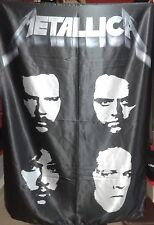 METALLICA The Black Album FLAG CLOTH POSTER WALL TAPESTRY BANNER CD Thrash Metal