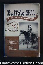Buffalo Bill: King of the Old West by Elizabeth Jane Leonard 1955