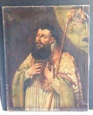 Peintures et émaux du XIXe siècle et avant huiles baroques portrait, autoportrait