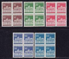 Postfrische Briefmarken aus Deutschland (ab 1945) mit Bauwerks-Motiv als Satz