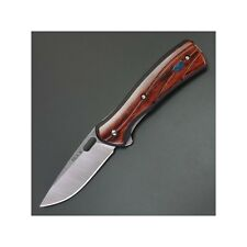 Couteau Buck Vantage Avid Rosewood Lame Acier 420HC Manche Bois  BU341RWS
