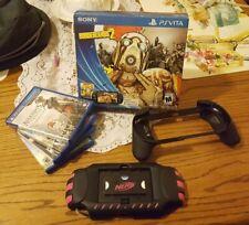 Sony PlayStation Vita 32GB + 8GB Black Portable Handheld Console and Games