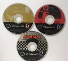 GameCube Lot Zelda Twilight Princess + Mario Kart + Smash Bros Melee DISC ONLY