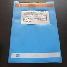 Werkstatthandbuch VW Golf III 1H Vento 4-Zyl. 1,4 1,6 L Einspritz Motor AEA APQ