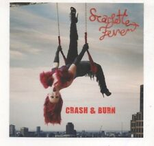 Scarlette Fever Crash & Burn Rare Lot of 2 CD's 10 Dance Remixes Jason Nevins