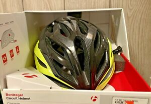 Bontrager Circuit bicycle Helmet - Size Small - Black Yellow 433634