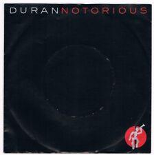 """Duran Duran - Notorious / Winter marches on / 7"""" Single von 1986"""