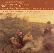 Vaughan Williams - Songs of Travel Butterworth Shropshire Lad (Hyperion) CD NEW