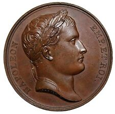 1806 France Napoleon I Bonaparte Conquest Of Istria Temple Medal Bramsen.512
