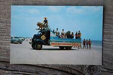 Vintage 1950s Daytona Beach Florida Lions Club Photo Postcard Parade Float Truck