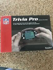 New Old Stock Nfl Trivia Pro Electronic Game Excalibur Electronics