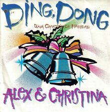 ALEX Y CHRISTINA-DING, DONG + BETTY TIENE UN SECRETO SINGLE VINILO 1988