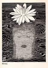 1937 Original DON BLANDING ART DECO Vintage Print NIRVANA