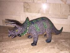 Dinosaur Lot Of 6 Figures Stegosaurus & Baby Allosaurus Apatosaurus Triceratops