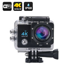VIDEOCAMERA FOTOCAMERA ACTION 4K 16 MP FULL HD WIFI SUBACQUEA 170 GD USB SD HDMI