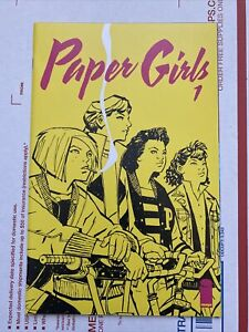 Paper Girls #1 🔥🔥🔥NM 9.6! Beautiful Copy And OPTIONED! BKV!