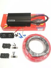 REDARC BCDC1225D DUAL BATTERY ISOLATOR SYSTEM DC TO DC MPPT INSTALL KIT - RGFC