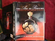 ART of PERFUME by CHRISTIE MAYER LEFKOWITCH/370 ILLUSTRATIONS/BIG 1994 1st