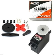 New Hitec HS-645MG High Torque 2BB Metal Gear Servo HS645MG/HS645/645MG/645