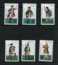 N694  Guinea  1997  old Germanic military uniforms    6v.    MNH