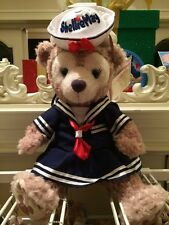 "HKDL Hong Kong Disneyland Disney ShellieMay Sailor Outfit Costume for 17"" Plush"
