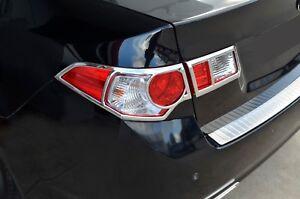 Chrome Rear Tail Light Lamp Surround Garnish Cover for Honda Accord Euro 08-16