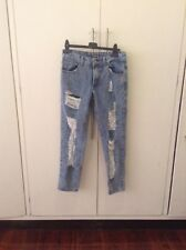 Something Borrow Distressed Jeans Size S