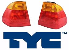 BMW E46 3-Series 323i 325i 325xi 328i Rear Left and Right Outer Tail Lights TYC