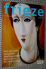 FRIEZE Magazine, Pietro Roccasalva, Zhang Huan, Alina Szapocznikow, Sharon Hayes